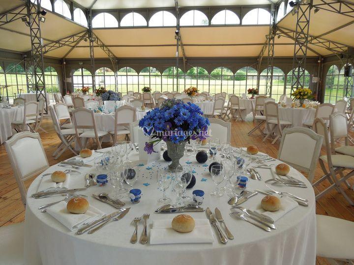Diner dans l'Orangerie