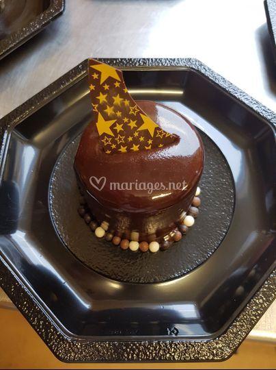 Dessert 3 chocolats individuel