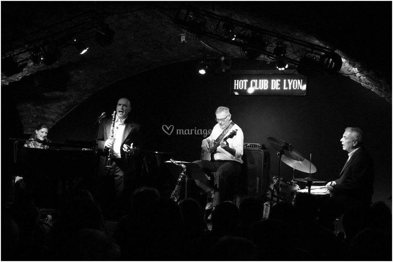 Concert au Hot-Club Lyon