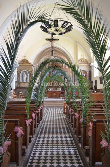 Décoration lieu de culte