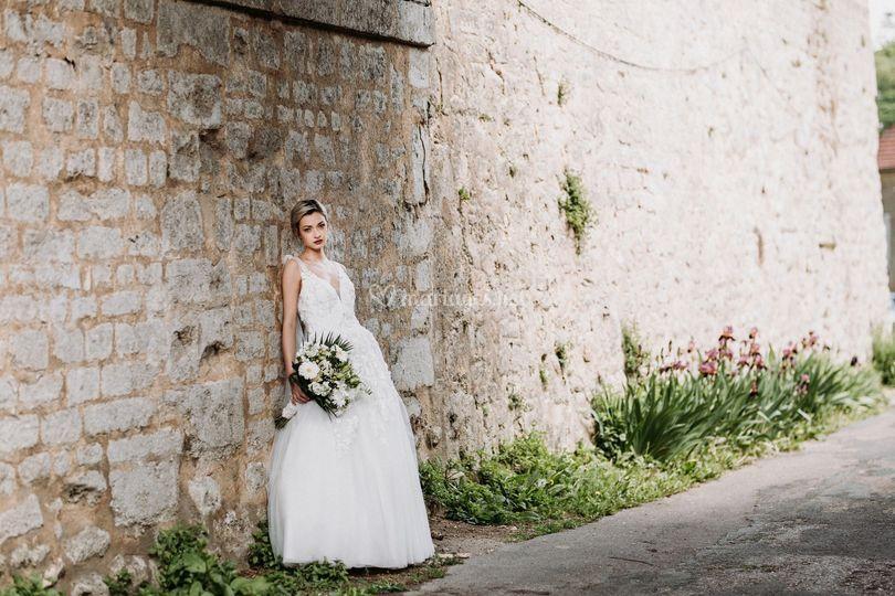 Robe de mariée vintage chic