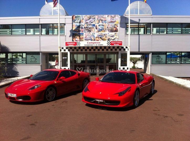 Ferrari F430 et 458 Italia