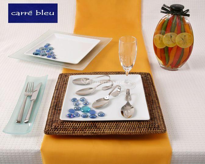 Carre Bleu Location - Composition