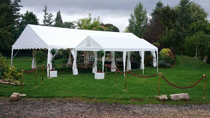 Tente pour cérémonie