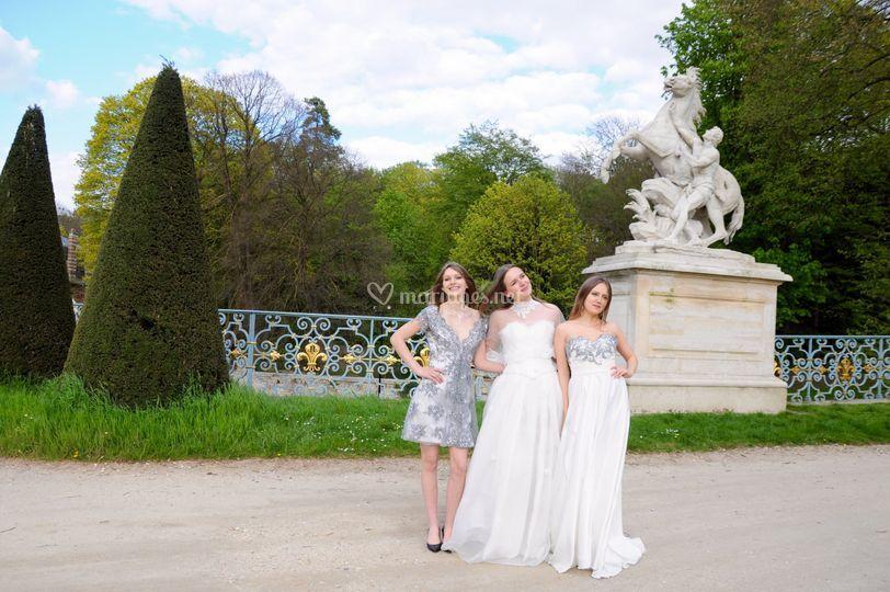 Robes de mariée en soie