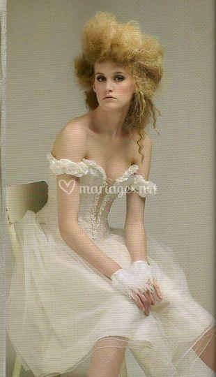 Robe de mariée danseuse étoile