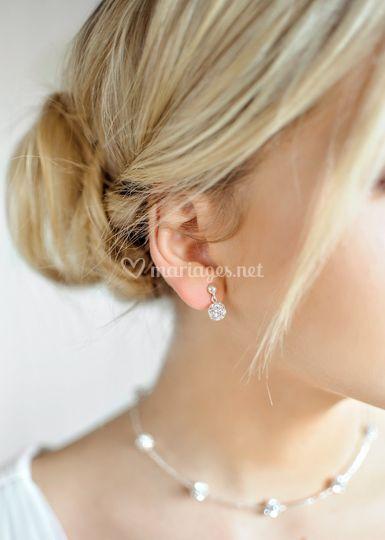 Boucles d'oreilles Carolina
