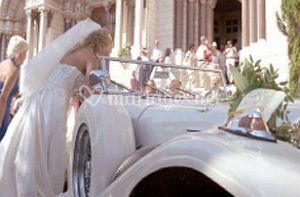 La voiture de mariée