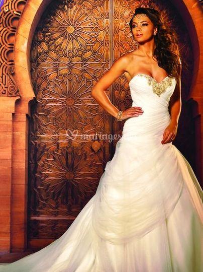 Robe de mariée Agathe Se Marie