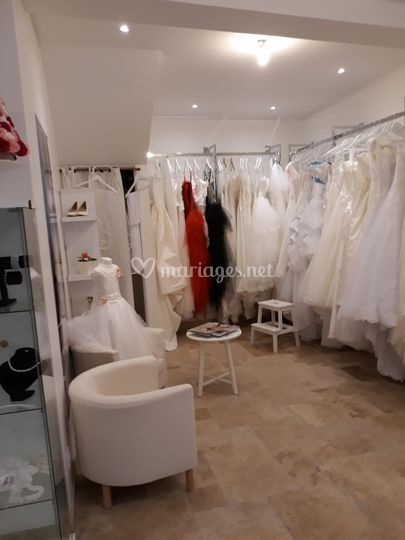 Accueil du showroom