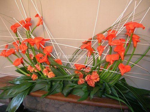 Grande composition florale