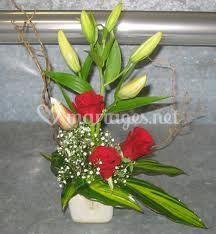 Moyenne composition florale