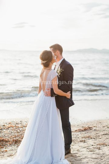 Seaside Elopement You&C