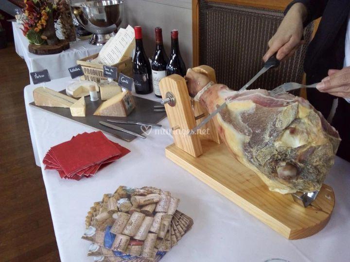 Atelier découpe jambon