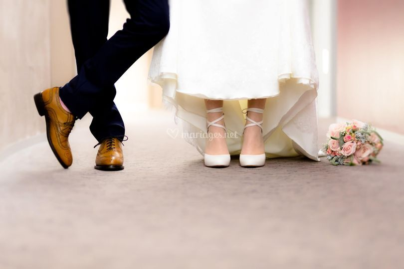 Photo chaussures mariage