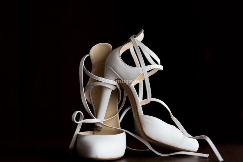 Photo chaussures mariée