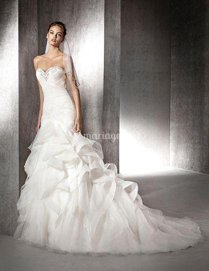 Robe à la mode: Robe de mariee pas cher nice