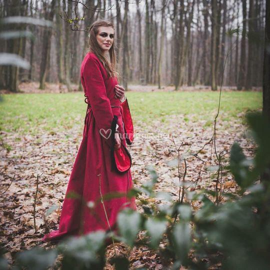 La belle dans les bois