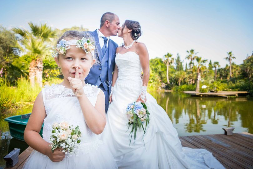 Mariés et enfant