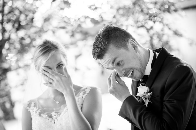 Émotions des mariés