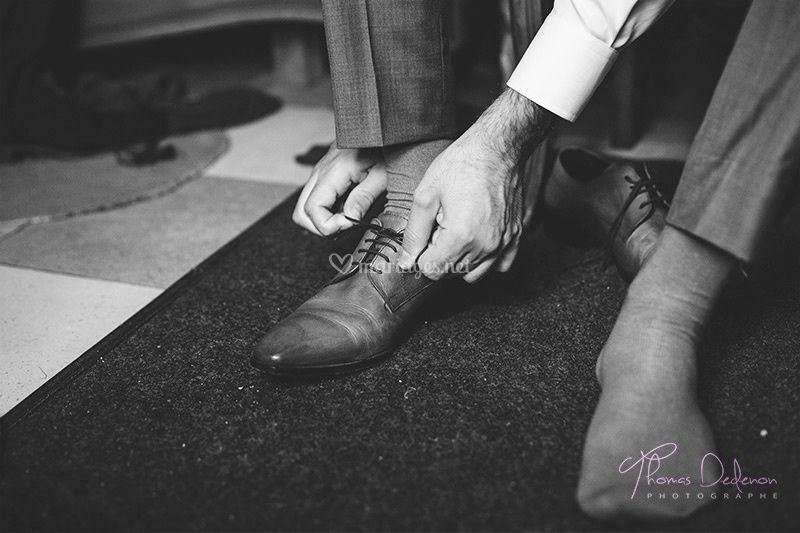 L'habillage du marié