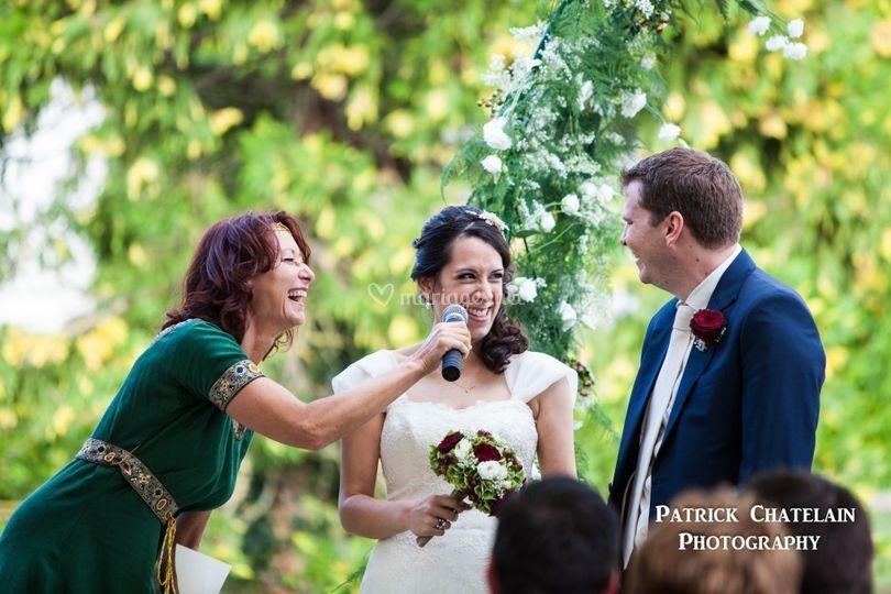Mariage anglais à Sauternes