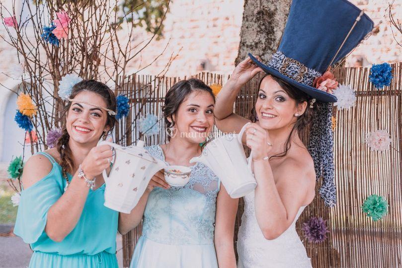 Mariée & soeurs
