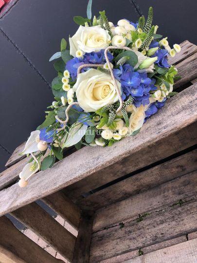 Bouquet chute mariage Morbihan