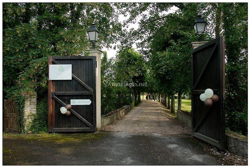 """Entrée """"Le Moulin du Béchet"""""""