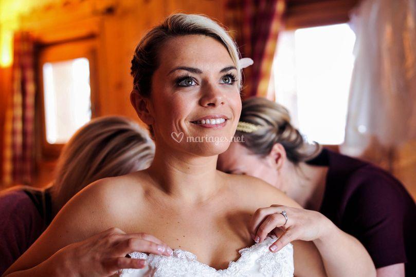 La superbe mariée