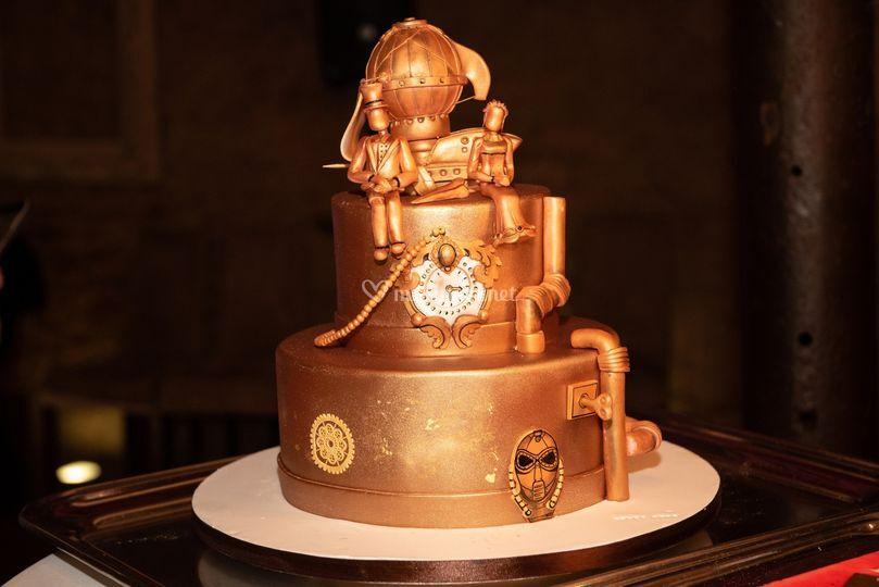 Le wedding cake !