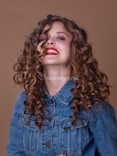 Maquillage flash/Curls