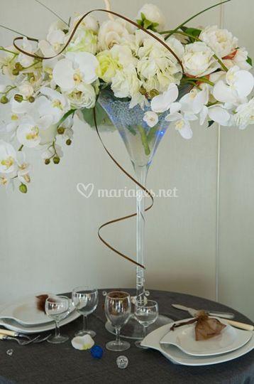 Vases Martini, vase boules