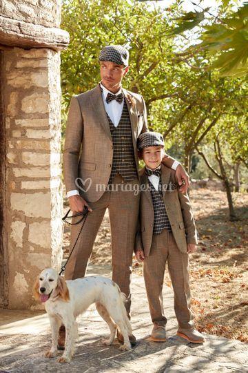 Costumes homme et enfant