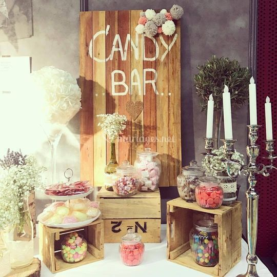 Candy bar royal gourmet