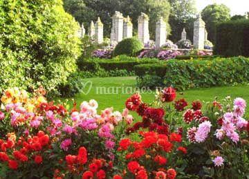 Jardin fleuri de ch teau de guilguiffin photo 10 for Jardin fleuri lyon 9