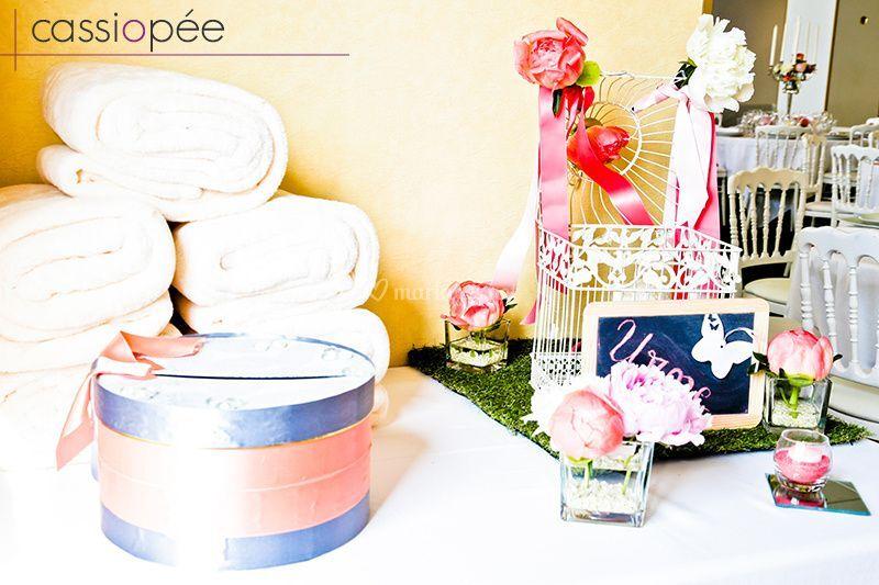 Decoration mariage - cassiopée