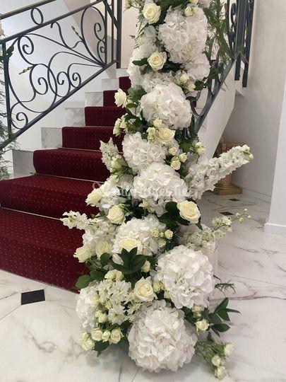 Descente de fleurs