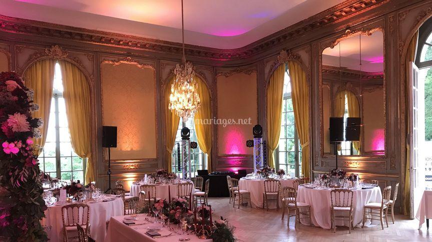 Mariage château d'Artigny