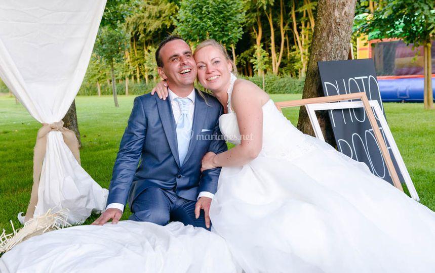 Photobooth des mariés