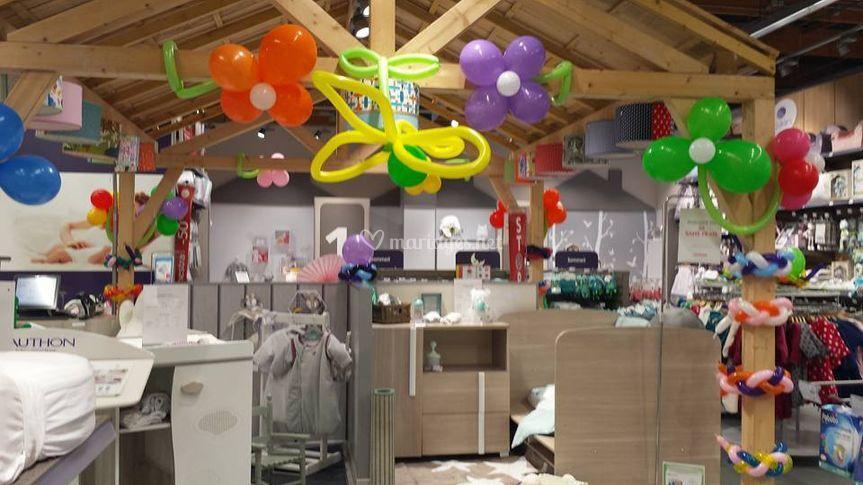 Decoration de ballons