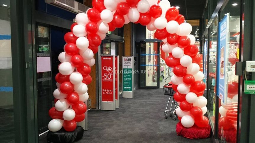 Arche ballons et decoration