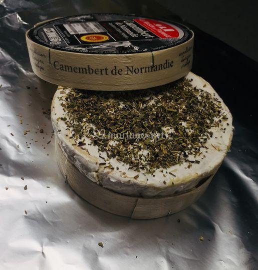 Camemberts rotis