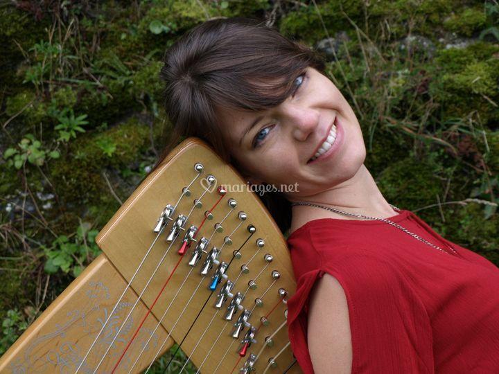 Marion Pollet harpe celtique