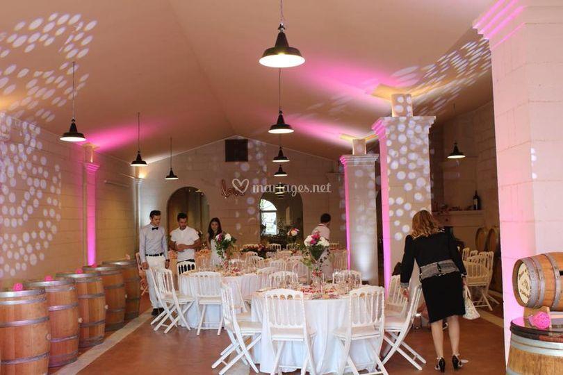 Salle de mariage Lestrille