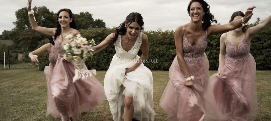 M & A _ Course de la mariée
