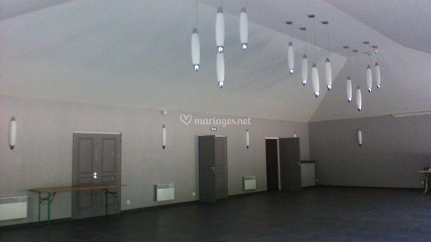 Intérieur de la salle