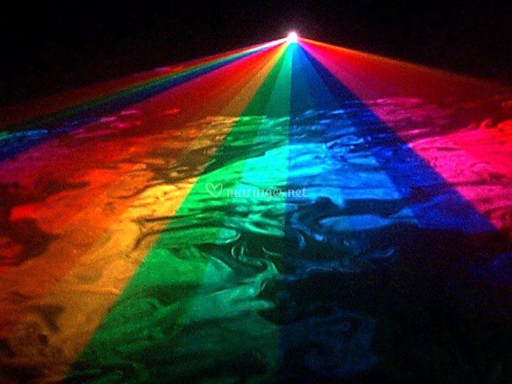 Laser multicouleurs RGB 1W
