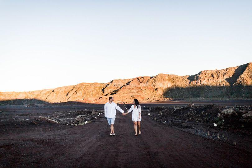 Couple à la Plaine des Sables