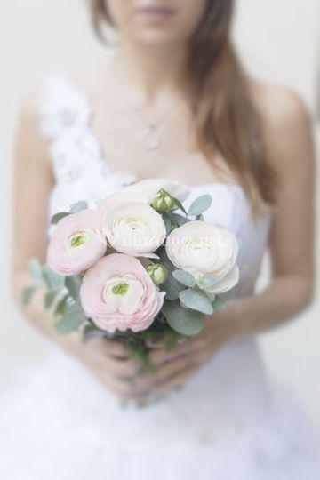 Bouquet fleurs mariage nice